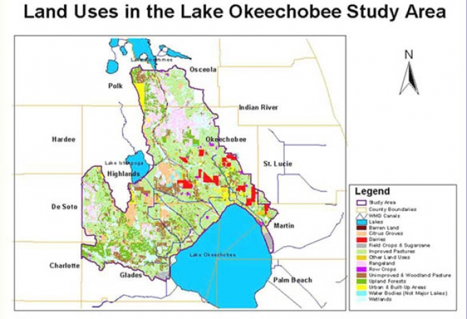 Natural Resource Analysis Of Lake Okeechobee Florida Projects