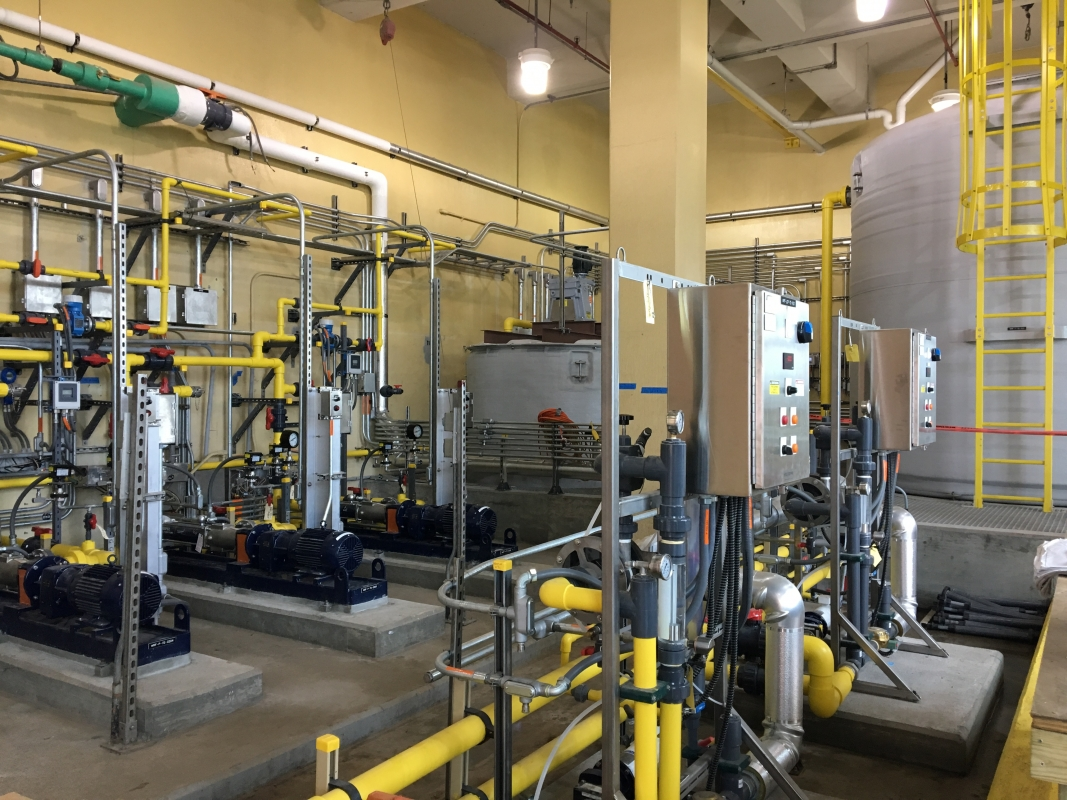 Broad Run WRF Solids Capacity Analysis, Fast Track Design, and