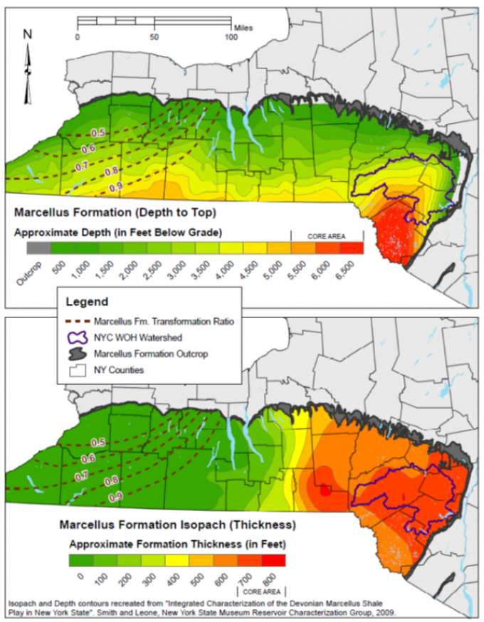Impact Assessment of Natural Gas Production in the NYC Watershed