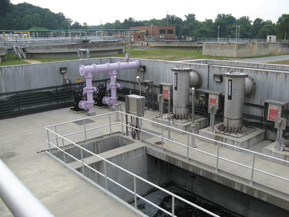 Water Is Transferred From The Final Effluent Channel Of The Filters To The  Reclaimed Water Pumping And Storage Facility Using Two Variable Speed  Vertical ...